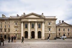 Universidad Dublín de la trinidad fotografía de archivo libre de regalías