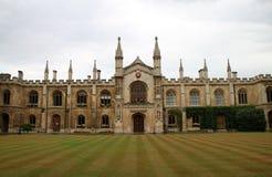 Universidad en Cambridge Fotografía de archivo