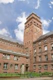 Universidad en Friburgo Imágenes de archivo libres de regalías
