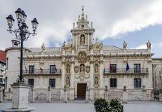 Universidad en Valladolid imágenes de archivo libres de regalías