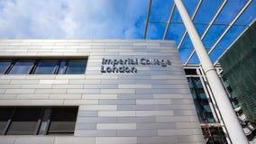Universidad imperial Londres en el Reino Unido fotos de archivo libres de regalías