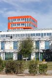 Universidad Lyon 2 de Lumiere en Bron, Francia fotos de archivo libres de regalías