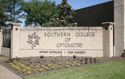 Universidad meridional de la optometría, Memphis, TN Fotos de archivo