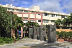 Universidad Miami - 2 de Johnson y de País de Gales imagen de archivo