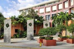 Universidad Miami de Johnson y de País de Gales fotografía de archivo libre de regalías