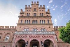 Universidad nacional en Chernivtsi foto de archivo libre de regalías