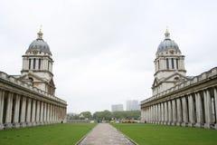 Universidad naval real, Greenwich imagenes de archivo
