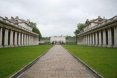 Universidad naval real, Greenwich fotografía de archivo libre de regalías