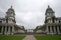 Universidad naval real, Greenwich imagen de archivo