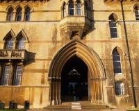 Universidad Oxford de ChristChurch imagenes de archivo