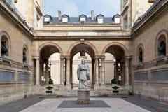 Universidad París Francia de Sorbonne Imagen de archivo