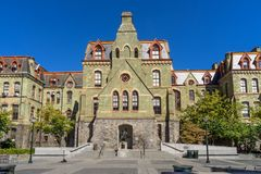 Universidad Pasillo de U-Penn foto de archivo