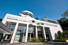 Universidad Pasillo del campus Imagenes de archivo
