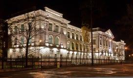 Universidad politécnica St Petersburg Rusia Foto de archivo libre de regalías