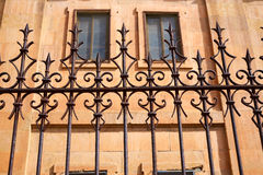 Universidad Pontificia university in Salamanca. Of Spain stock photography