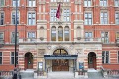 Universidad real de la música, Londres imagen de archivo libre de regalías