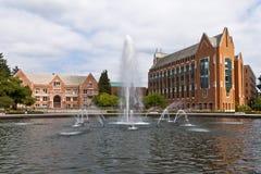 Universidad Seattle de Washington imagenes de archivo