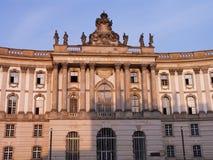 Universidad vieja de Berlín de la biblioteca Fotografía de archivo libre de regalías