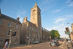 Universidad y capilla del St Salvator fotografía de archivo