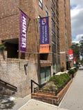 Universidad y Hunter College de Baruch de la vida de la residencia imagen de archivo libre de regalías