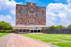 A universidade autônoma nacional de México imagem de stock