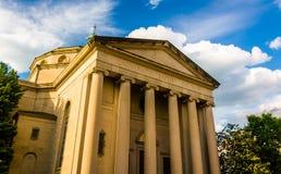 Universidade Baptist Church, em Baltimore, Maryland fotografia de stock royalty free