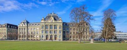 Universidade da construção de Berna Fotografia de Stock