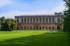 Universidade da faculdade da trindade de Cambridge fotos de stock