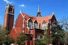 Universidade da torre do auditório e do século de Florida Imagem de Stock