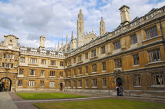 Universidade de Cambridge imagem de stock