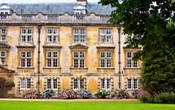 Universidade de Cambridge Fotografia de Stock Royalty Free