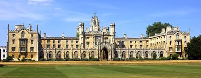 Universidade de Cambridge Imagem de Stock Royalty Free