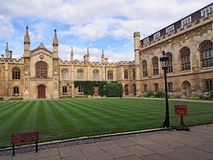Universidade de Cambridge, corpus Christi College imagens de stock royalty free