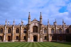 Universidade de Cambridge que builing, Reino Unido Fotos de Stock Royalty Free