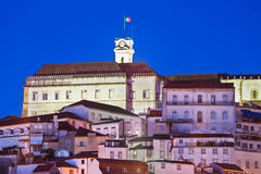 Universidade de Coimbra Fotografia de Stock