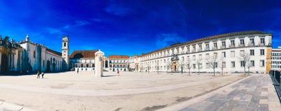 Universidade de Coimbra Imagem de Stock Royalty Free
