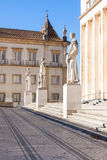 Universidade de Coimbra, Portugal foto de stock royalty free