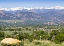 Universidade de Colorado foto de stock royalty free