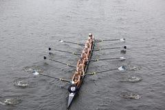 A universidade de Georgetown compete na cabeça de Charles Foto de Stock Royalty Free