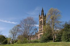 Universidade de Glasgow Fotografia de Stock