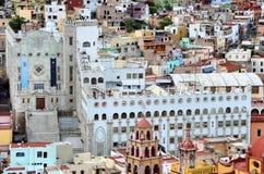 Universidade de Guanajuato imagem de stock