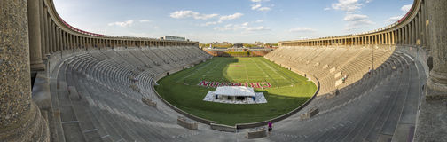 A Universidade de Harvard Foto de Stock