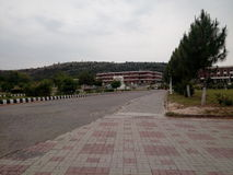 Universidade de Hitec, shogran, balakot, mansahra, naran foto de stock