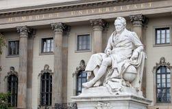 Universidade de Humboldt Imagem de Stock Royalty Free