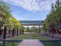 Universidade de Mahidol, terreno de Salaya, ambiente Fotografia de Stock Royalty Free