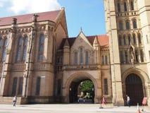 Universidade de Manchester, Inglaterra Foto de Stock Royalty Free