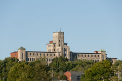Universidade de Moncton - Edmundston - Novo Brunswick Fotografia de Stock Royalty Free