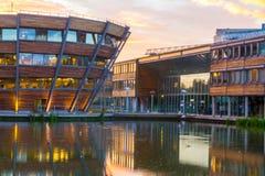 Universidade de Nottingham em Inglaterra imagens de stock royalty free