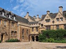 Universidade de Oxford, faculdade de Merton fotos de stock