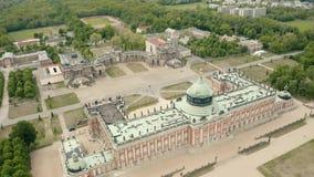 Universidade de Potsdam e do pal?cio novo vídeos de arquivo